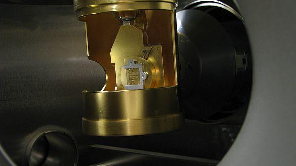 manipulateur de la station expérimentale résolue en spin