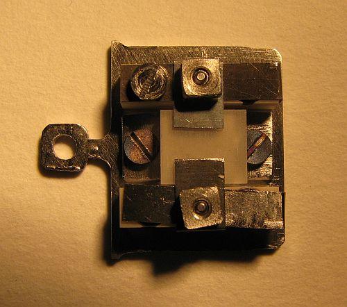 Plaquette type Omicron