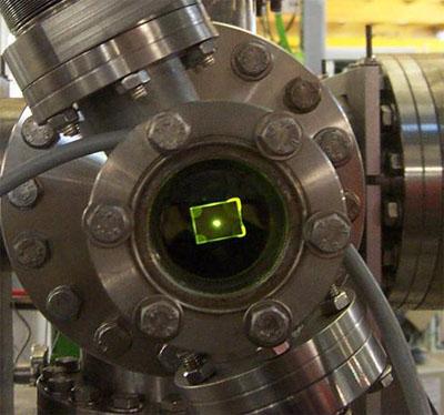 Première image du faisceau de photons ligne TEMPO