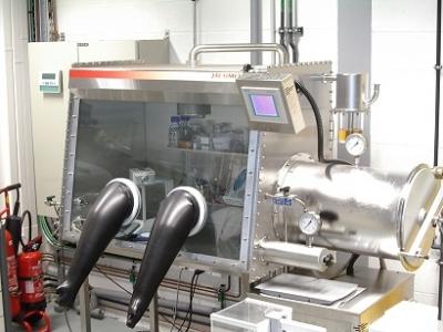 Boites à gants Jacomex SOLEIL Synchrotron