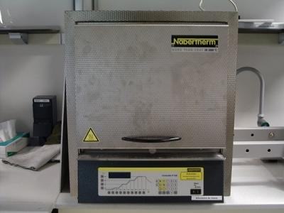 Four à moufle Nabertherm SOLEIL Synchrotron