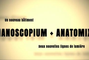 Vidéo des futures lignes de lumières Nanoscopium et Anatomix
